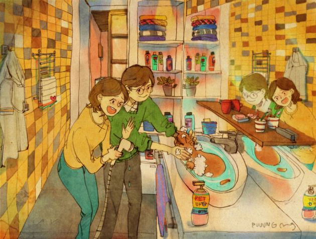 sweet-couple-love-illustrations-art-puuung-21__880