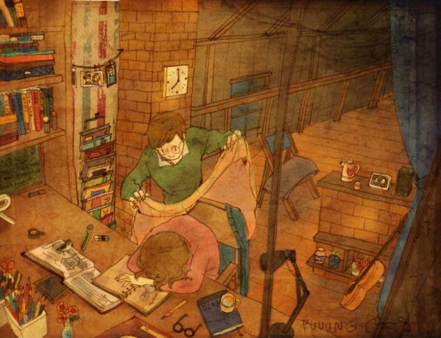 sweet-couple-love-illustrations-art-puuung-39__880